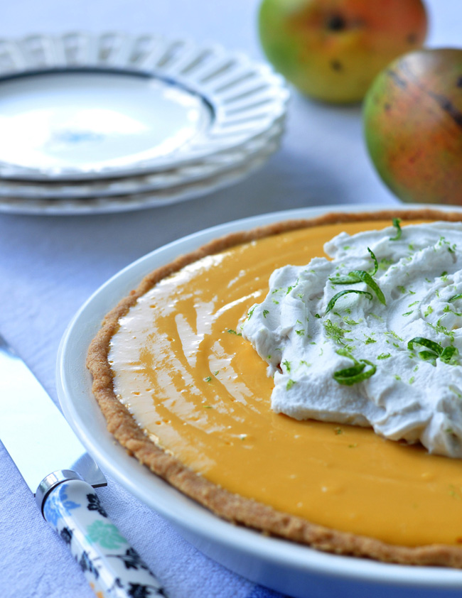 mango lime pie