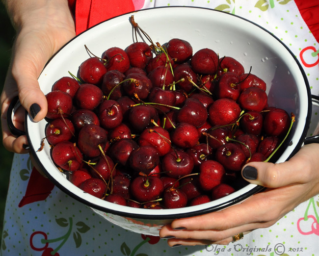 preserving cherries naturally