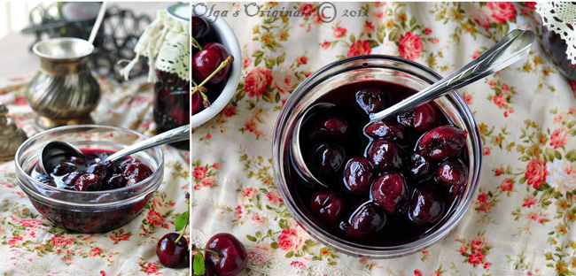 old-fashioned cherry preserves