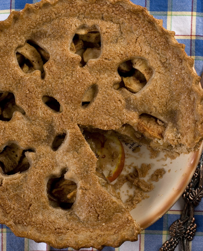 homemade gluten-free apple pie