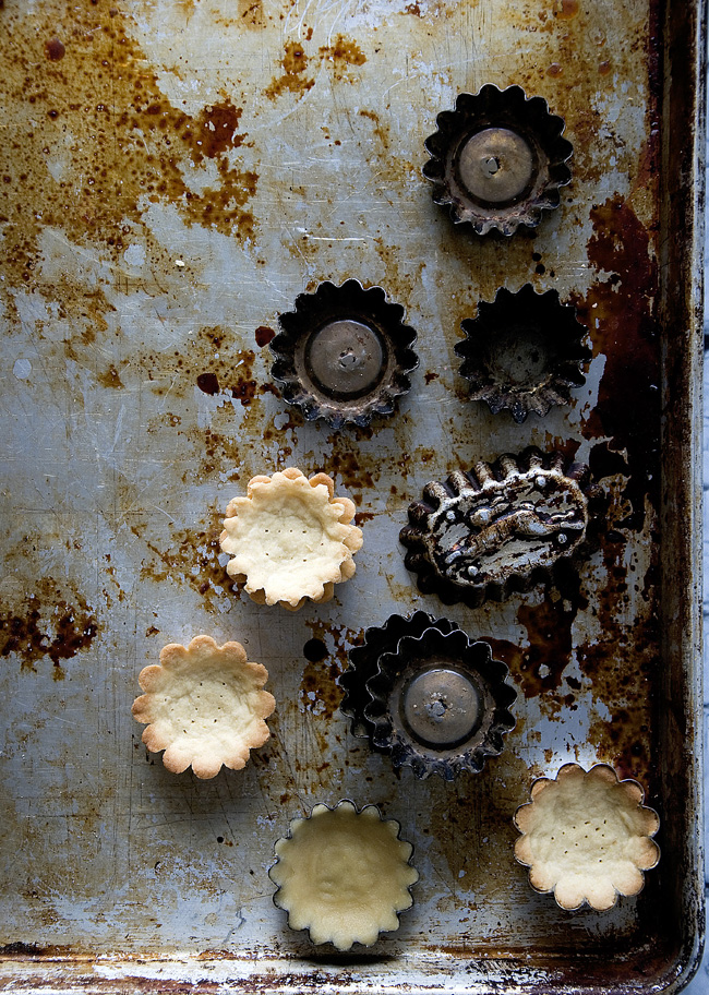 old-fashioned tartlet molds