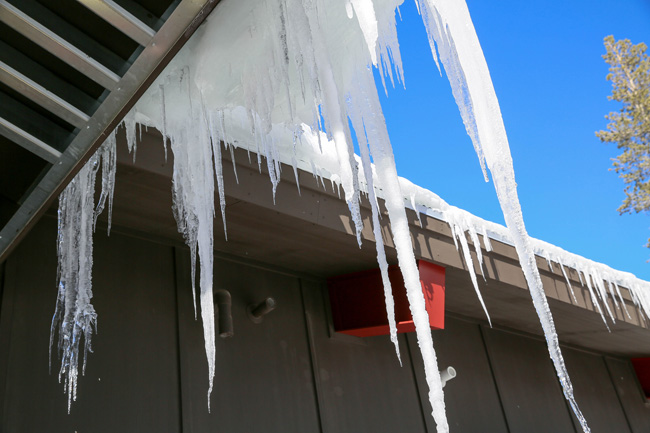 images of snow icicles
