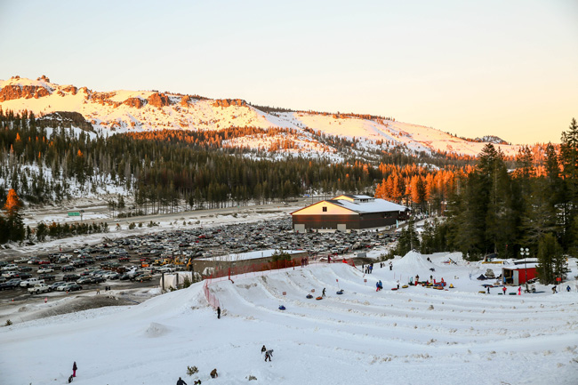 ski resorts near Reno